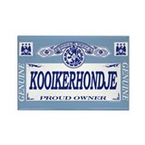 KOOIKERHONDJE Rectangle Magnet (100 pack)