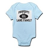 Property of Lane Family Onesie