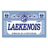 LAEKENOIS Rectangle Decal