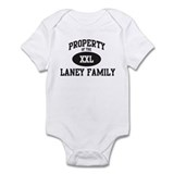 Property of Laney Family Onesie
