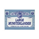 LARGE MUNSTERLANDER Rectangle Magnet