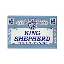 KING SHEPHERD Rectangle Magnet (100 pack)