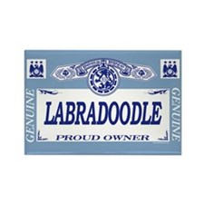 LABRADOODLE Rectangle Magnet (10 pack)