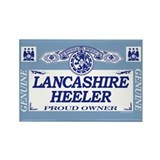 LANCASHIRE HEELER Rectangle Magnet