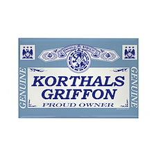 KORTHALS GRIFFON Rectangle Magnet