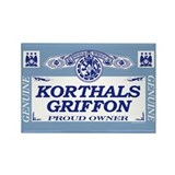 KORTHALS GRIFFON Rectangle Magnet (100 pack)