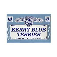 KERRY BLUE TERRIER Rectangle Magnet