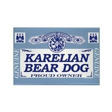 KARELIAN BEAR DOG Rectangle Magnet (10 pack)