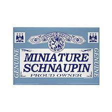 MINIATURE SCHNAUPIN Rectangle Magnet