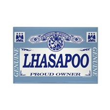 LHASAPOO Rectangle Magnet (10 pack)