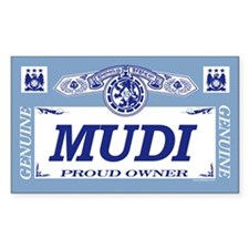 MUDI Rectangle Decal