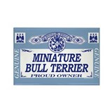 MINIATURE BULL TERRIER Rectangle Magnet