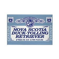 NOVA SCOTIA DUCK-TOLLING RETRIEVER Rectangle Magne