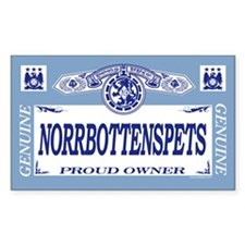NORRBOTTENSPETS Rectangle Decal