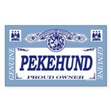 PEKEHUND Rectangle Decal
