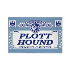 PLOTT HOUND Rectangle Magnet (100 pack)