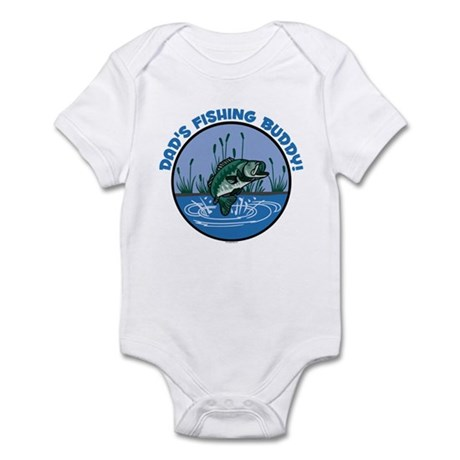 DAD'S FISHING BUDDY! Infant Bodysuit