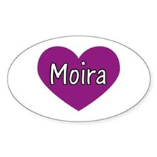 Moira Oval Decal