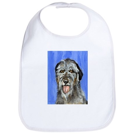 IRISH WOLFHOUND Portrait Desi Bib
