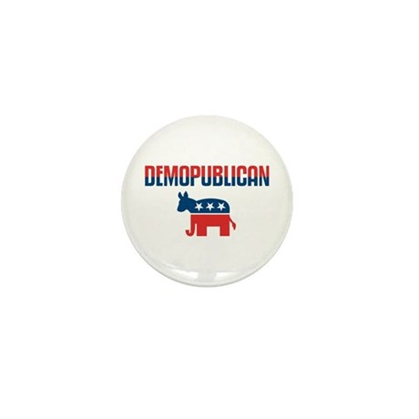 Demopublican Mini Button
