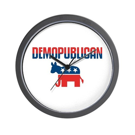 Demopublican Wall Clock