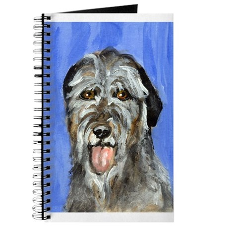 IRISH WOLFHOUND Portrait Desi Journal