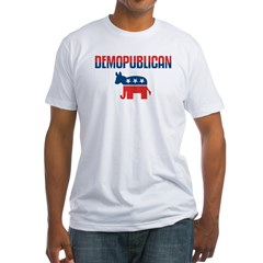 Demopublican Fitted T-Shirt