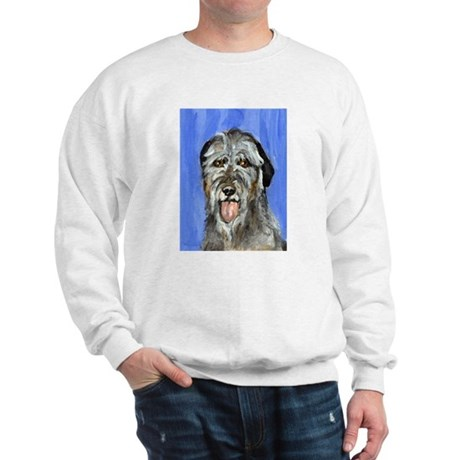 IRISH WOLFHOUND Portrait Desi Sweatshirt