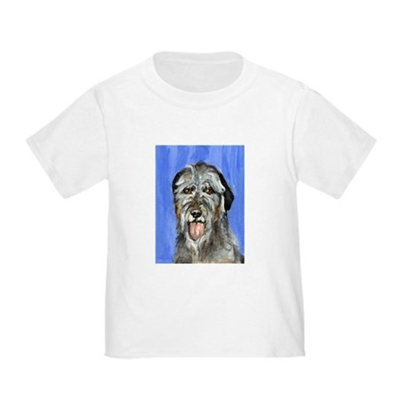 IRISH WOLFHOUND Portrait Desi Toddler T-Shi
