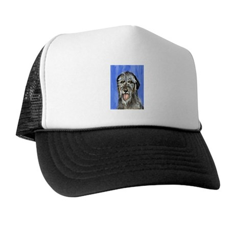 IRISH WOLFHOUND Portrait Desi Trucker Hat