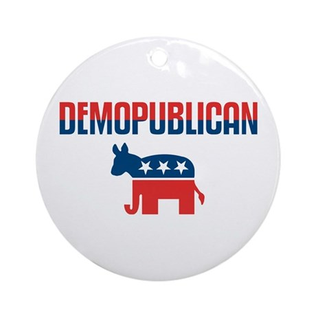 Demopublican Ornament (Round)