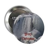"Niagara Falls Merry Christmas 2.25"" Button (100 pa"