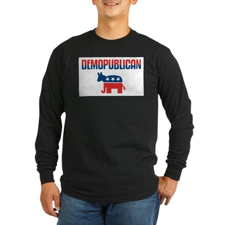 Demopublican Long Sleeve Dark T-Shirt