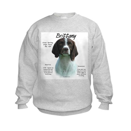 Brittany (Liver) Kids Sweatshirt