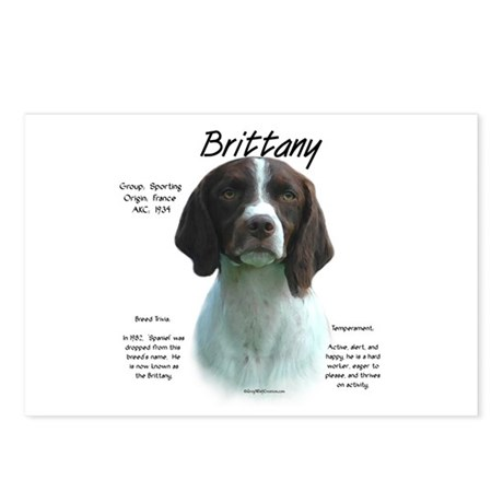 Brittany (Liver) Postcards (Package of 8)