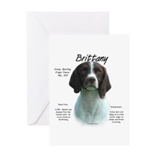 Brittany (Liver) Greeting Card