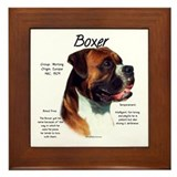 Boxer (natural) Framed Tile