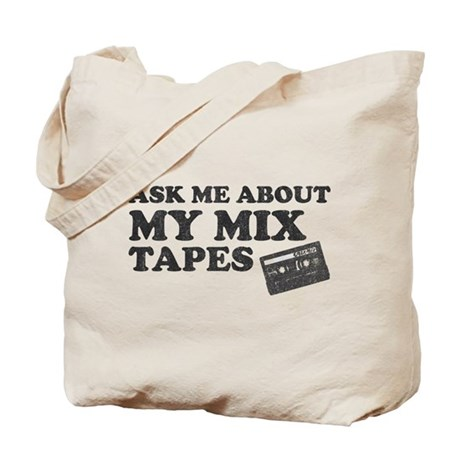 Mix Tapes Tote Bag