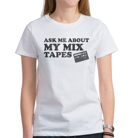 Mix Tapes Women's T-Shirt