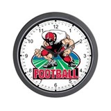 Football Attitude Wall Clock