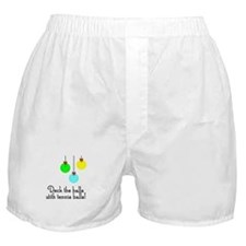 TennisChick Deck the Halls Boxer Shorts
