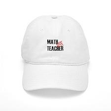 Off Duty Math Teacher Baseball Cap