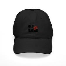 Off Duty Math Teacher Baseball Hat
