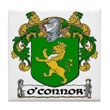 O'Connor Coat of Arms Tile Coaster