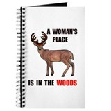 WOMAN IN THE WOODS Journal