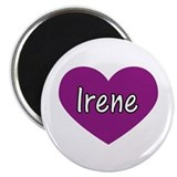 Irene 2.25&quot; Magnet (100 pack)
