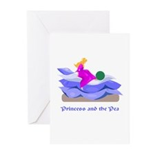 Princess and the pea  Greeting Cards (Pk of 20)