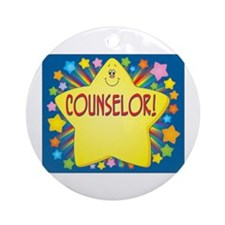 Star Counselor Ornament (Round)