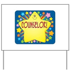 Star Counselor Yard Sign