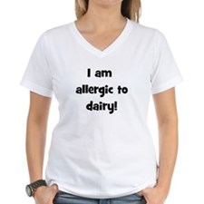 Allergic to Dairy - Black Shirt